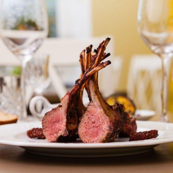 Lamb Rack Cooked
