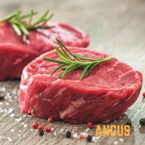 Angus beef fillet tenderloin steak