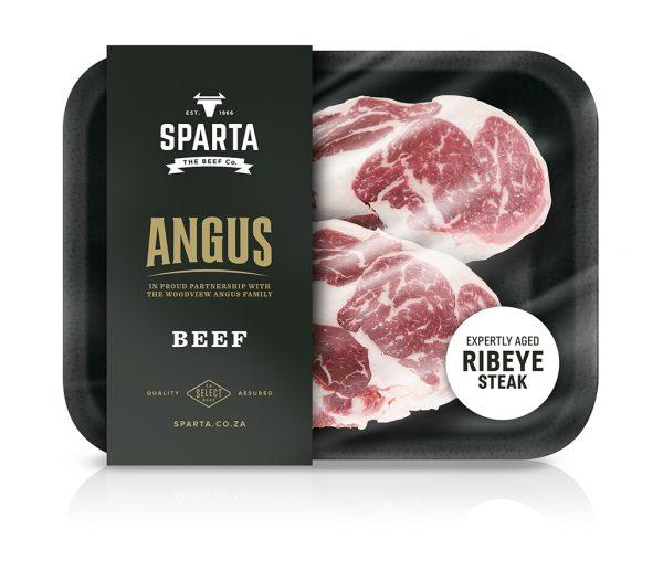 Angus beef ribeye steak
