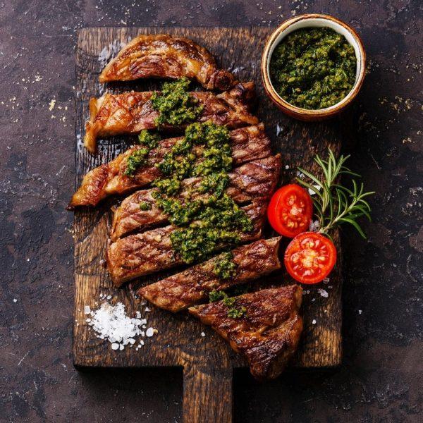 Cooked Angus Beef Sirloin Steak 300g