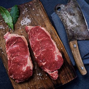 Mature Sirloin Beef Steak