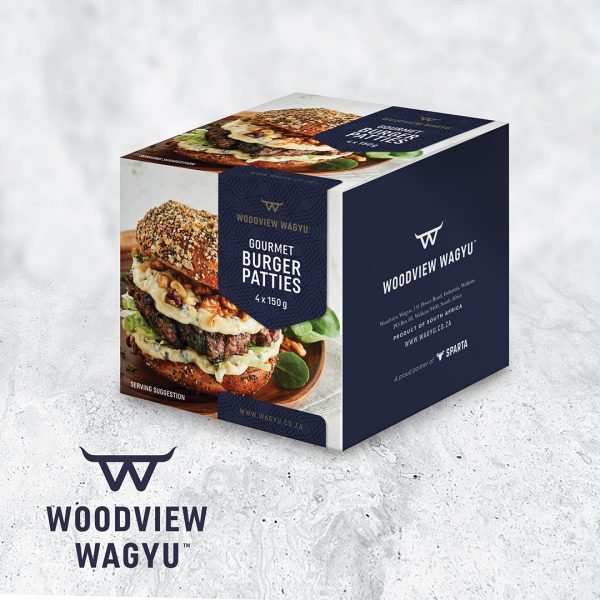 Wagyu Beef Burgers Packaging