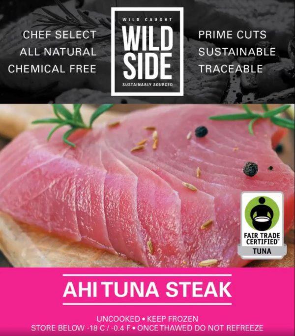 Ahi Tuna Steak (8oz)