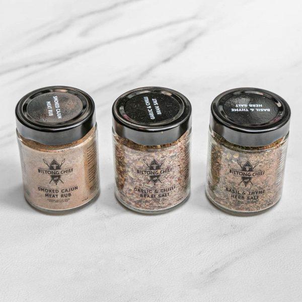 Braai Spice Pack (3 x 100g per blend)