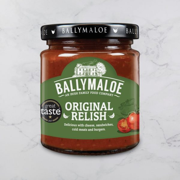 Ballymaloe original relish product shot